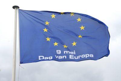 Vlag Dag van Europa