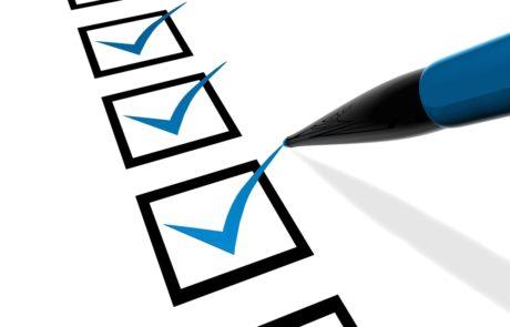 MIT Zuid checklist