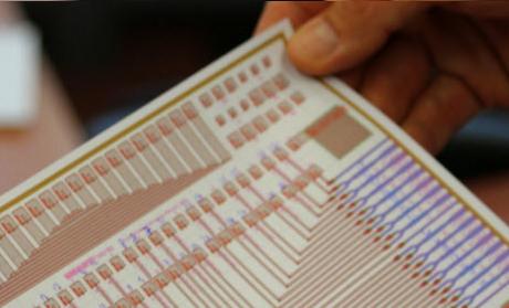 Geïntegreerde detector voor FBG sensorsystemen