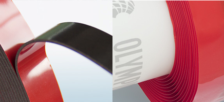 Zelfklevende tape op basis van polymeren