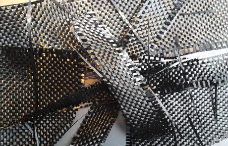 Halffabricaat uit hoogwaardige koolstofvezel