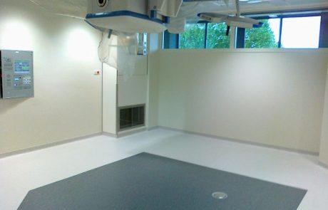 Lokaal ventilatiesysteem voor de operatiekamer