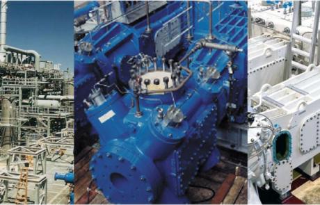 Intelligente pakkingen met fiber optische sensoren voor de olie- en gasindustrie