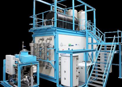 Biogas drogen en ontzwavelen met Zeoliet