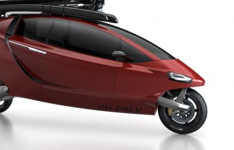 Het ontwikkelen van een lichtgewicht voertuig (PAL-V = Personal Air and Land Vehicle)