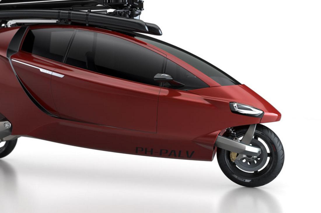 Het ontwikkelen van een lichtgewicht voertuig pal v personal air and land vehicle op zuid - Een hellend land ontwikkelen ...