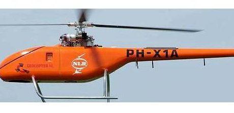 Onbemande helikopter voor stedelijke gebieden