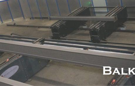 Ontwikkelen van Balkenlasmachine voor het staalconstructiebedrijf