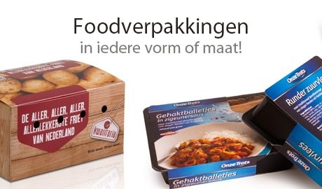 Voedselveilig drukproces voor levensmiddelenverpakking