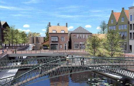 Reconstructie oude haven Hulst