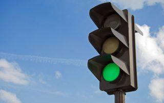 Groen verkeerslicht