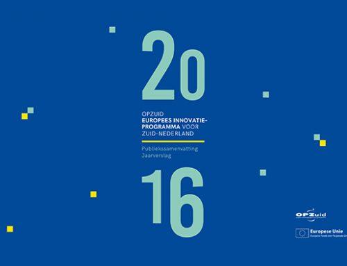 Jaarverslag OPZuid 2016 nu beschikbaar