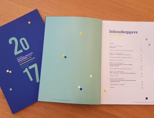 Terugkijken en verder bouwen in OPZuid jaarverslag 2017