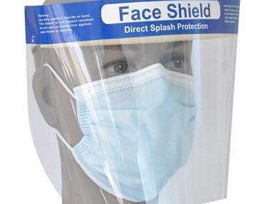 Gezichtsbescherming voor medisch personeel