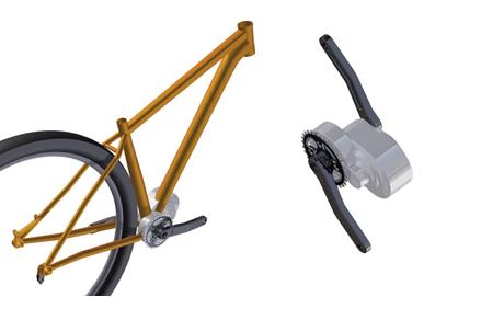 Innovatieve Middenmotor Technologie voor elektrische fietsen