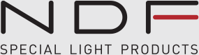 Neon activated fluorescent lamp