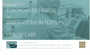 2nd European Congress on Innovations in Textiles for Healthcare