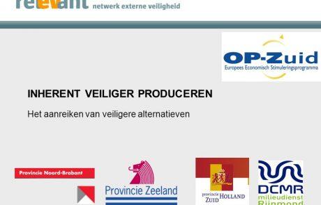 Inherent veiliger produceren