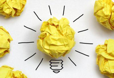 Idee lampje