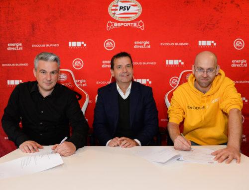 PSV zet in op Active Esports en gaat samenwerking aan met Exodus Burned