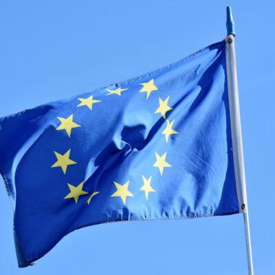 Afbeelding vlag Europese Unie voor Dag van Europa 2021